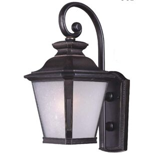 Compare prices Sunbury 1-Light Outdoor Wall Lantern By Darby Home Co