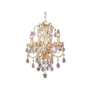 Prosser 4-Light Candle Style Chandelier
