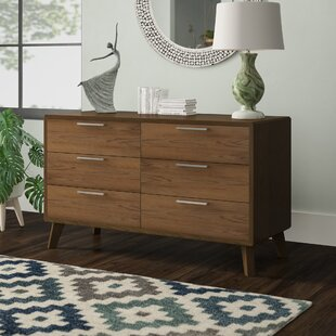 Hali 6 Drawer Double Dresser