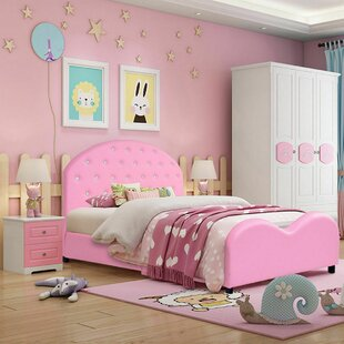Suzette Wooden Princess Toddler Platform Bed by Zoomie Kids