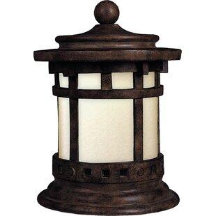 Millwood Pines Esplanade Outdoor Deck Lantern 1-Light Pier Mount Light