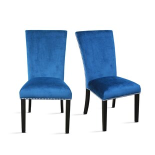 Chaffee Upholstered Dining Chair (Set of 2) by Brayden Studio