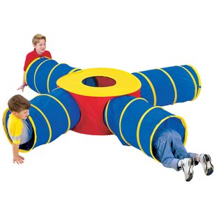 Fun Junction Play Tunnel with Carrying Bag by Pacific Play Tents