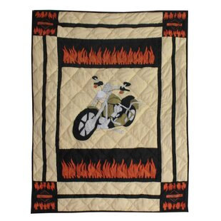 Best Reviews Motor Cycle Crib Quilt ByPatch Magic