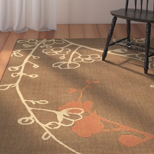 Laurel Brown/Rust Indoor/Outdoor Area Rug