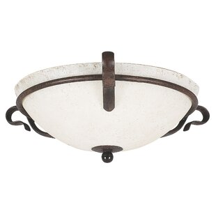 Find the perfect Westover 2-Light Flush Mount By Fleur De Lis Living