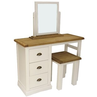 Minto Dressing Table Set With Mirror By August Grove