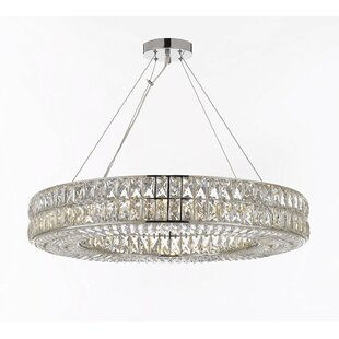 Hubbert Ring 16-Light Chandelier by Orren..