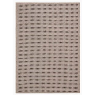 Seattle Hand-Woven Cream/Black Indoor/Outdoor Area Rug by Calvin Klein