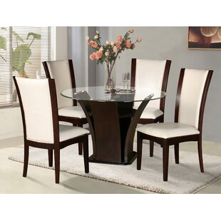 Shanice Round Dining Table Latitude Run