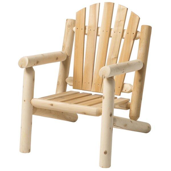 loon peak hooper solid wood adirondack chair reviews wayfair