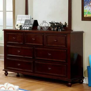 Read Reviews Saltsman 7 Drawer Double Dresser by Harriet Bee Reviews (2019) & Buyer's Guide