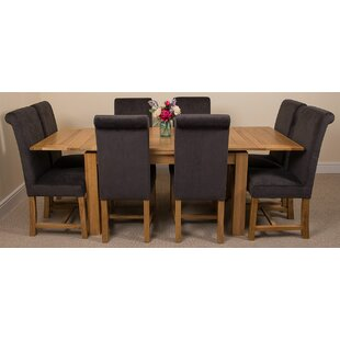 Kenia Dining Set With 8 Chairs By Rosalind Wheeler