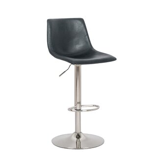 Marenco Hydraulic Liver Adjustable Height Swivel Bar Stool