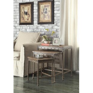 Cosimo 3 Piece Nesting Table
