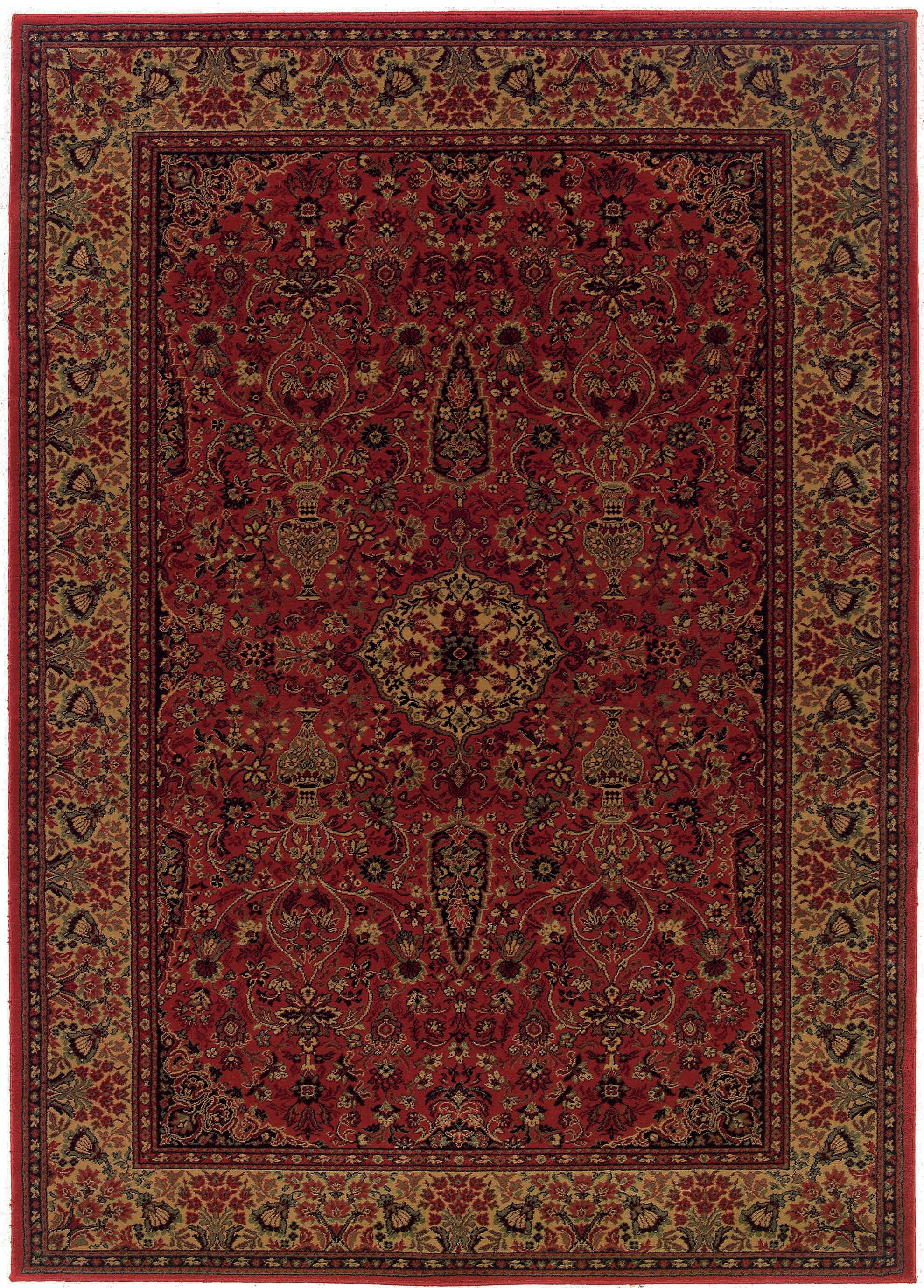 World Menagerie Amsbry Red Gold Area Rug Reviews Wayfair