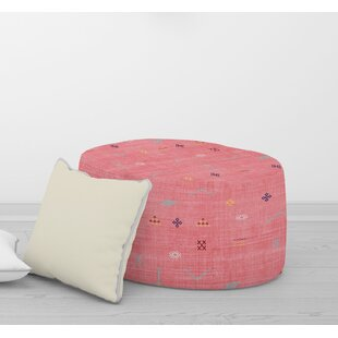 CACTUS SILK Pouf By Becky Bailey by Bungalow Rose