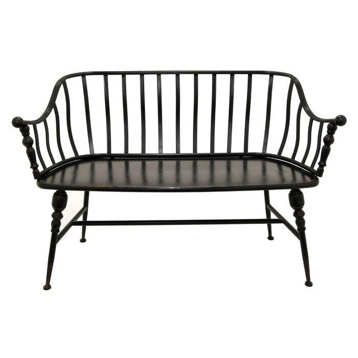 Awesome Blondene Garden Metal Bench Evergreenethics Interior Chair Design Evergreenethicsorg