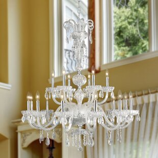 Astoria Grand Carbajal 18-Light Candle Style Chandelier