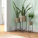 Extra Large Rattan Planters You Ll Love In 2021 Wayfair