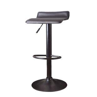 Decker Adjustable Height Swivel Bar Stool..
