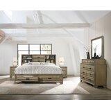 Cobden Loiret Canopy Solid Wood 5 Piece Bedroom Set by Loon Peak