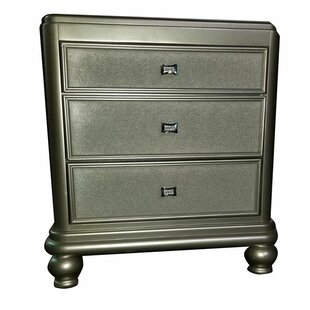 Harmony 3 Drawer Nightstand