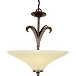 Fleur De Lis Living Sundown 4-Light Bowl Pendant