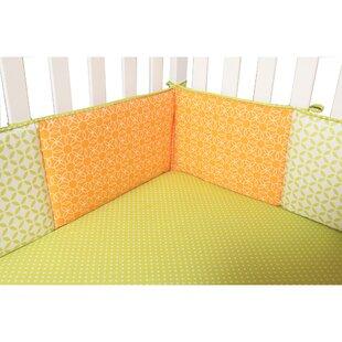 Best Choices 4 Piece Savannah Crib Bumper Set ByTrend Lab
