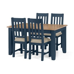 Tali Extendable Dining Set With 4 Chairs By August Grove