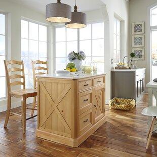 Dacian Country Kitchen Island Set