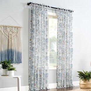 Curtain panels linen  curtain sheer curtains farmhouse curtains Drapery Panel Rustic curtains