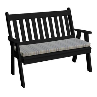 Cambridge Plastic Garden Bench by Radionic Hi Tech