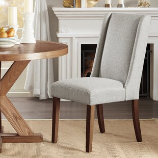 Granderson Wing Upholstered Dining Chair (Set of 2)