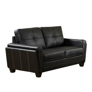 Read Reviews Burrell Standard Loveseat by Ebern Designs Reviews (2019) & Buyer's Guide