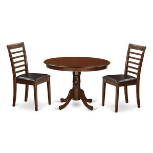 Hartland 3 Piece Dining Set by East West ..
