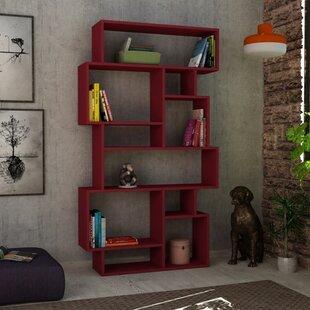 Aryan Modern Geometric Bookcase