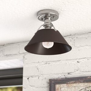 Weatherford 1-Light Semi Flush Mount