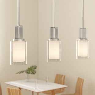 Top Reviews Bensenville 1-Light Cylinder Pendant By Mercury Row