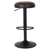 Gillham Adjustable Height Swivel Bar Stool (Set of 2) by Williston Forge
