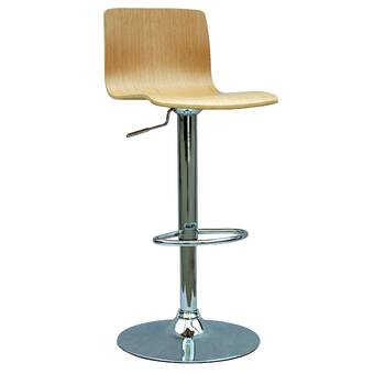 Casabianca Furniture Tito Adjustable Height Swivel Bar Stool Wayfair