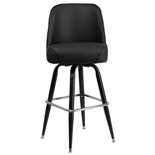 Caramont Swivel Bar Stool Wade Logan