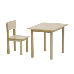 Simple Children's 2 Piece Play Table And Chair Set By Isabelle & Max