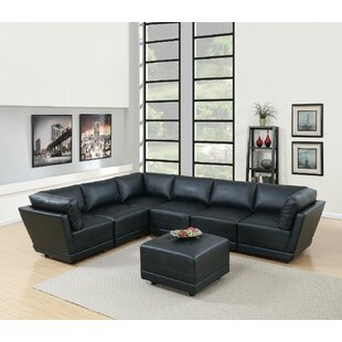Williford Reversible Modular Sectional with Ottoman