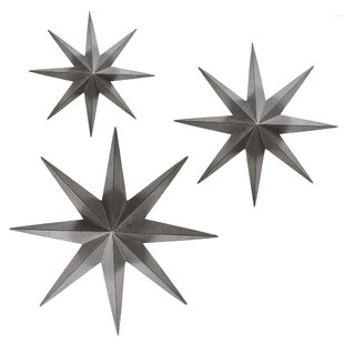 Metal Star Wall Decor Enchanting Wayfair Decorating Inspiration With Stars For Walls