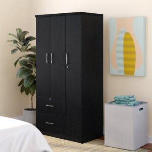 Guerrier 3 Door Armoire by Ebern Designs