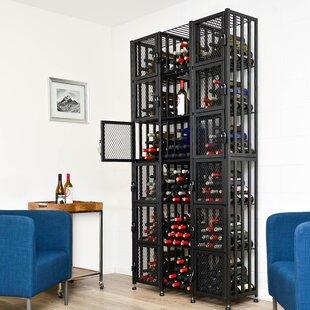 Locker 384 Bottle Floor Wine Rack By VintageView