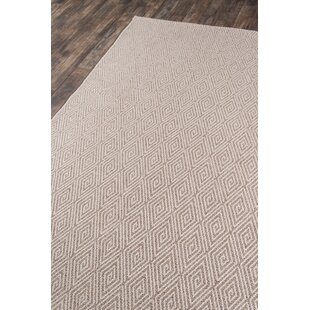 Downeast Wells Beige Indoor/Outdoor Area Rug