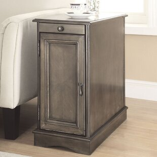 Celestin End Table with Storage