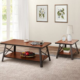 Tristian 2 Piece Coffee Table Set by Union Rustic